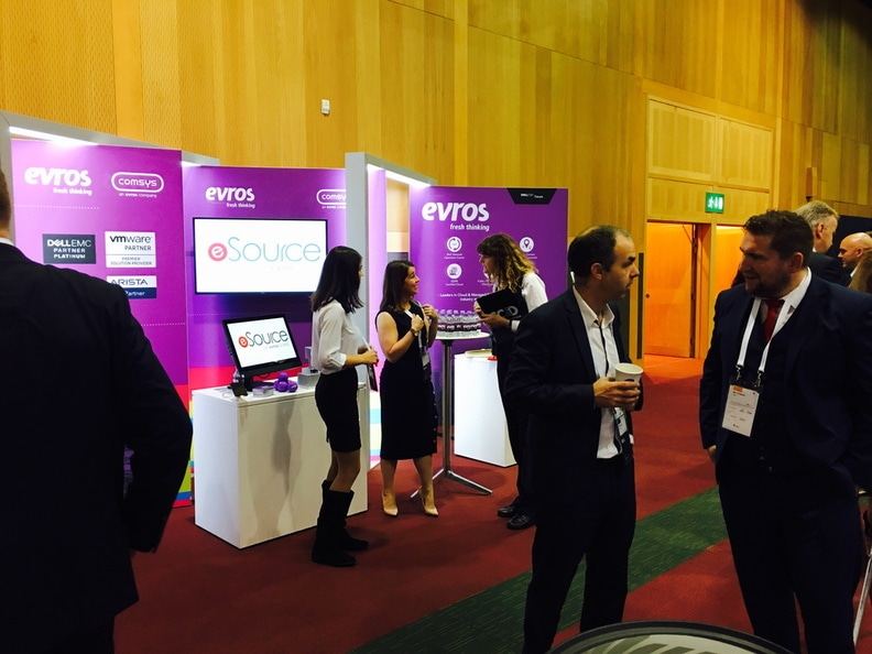 Dell EMC Forum 2017, esource, evros