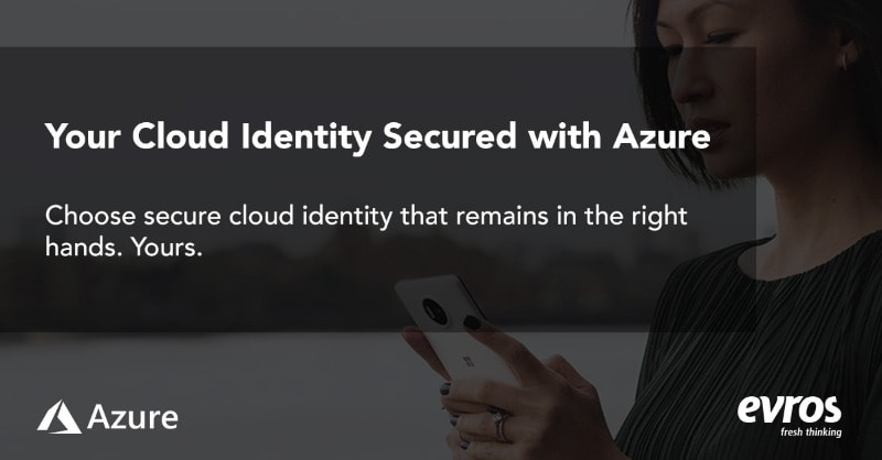 identity secured with azure