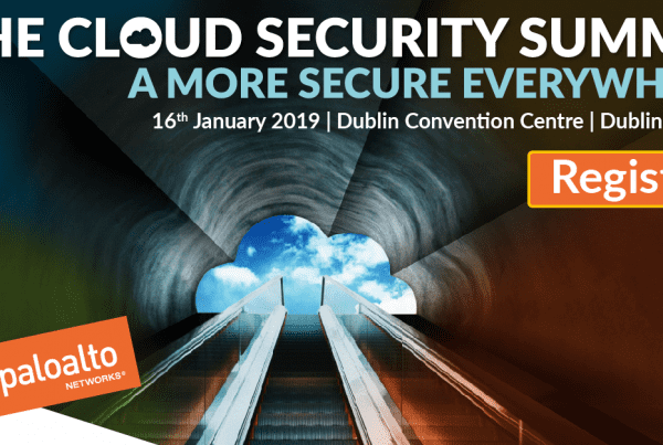 Evros is proud silver sponsor for Palo Alto Networks Cloud Security Summit 2019 Dublin.