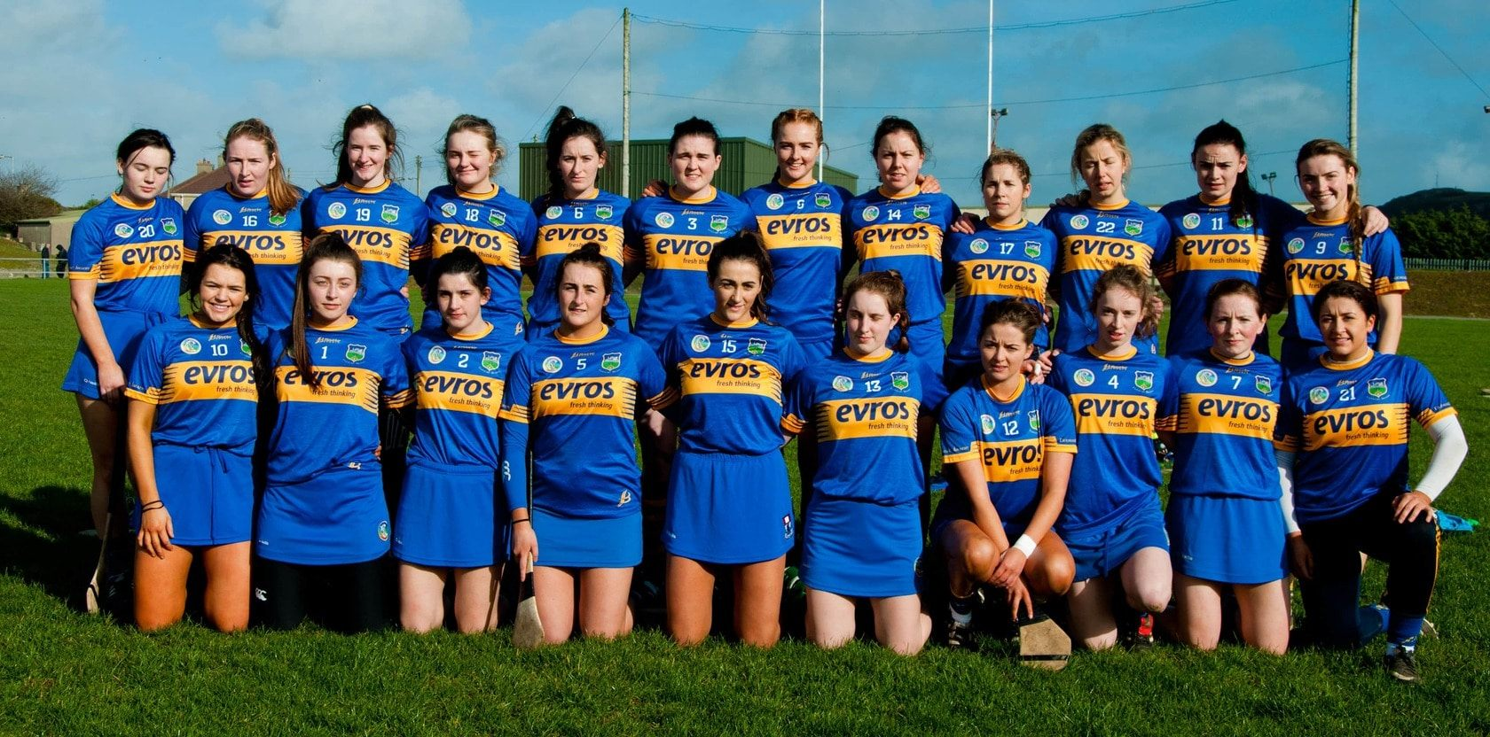 The Tipperary Senior Camogie Team 2019
