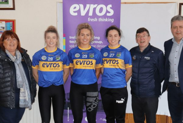 Evros Technology Group announced as Tipperary Camogie Official Sponsor