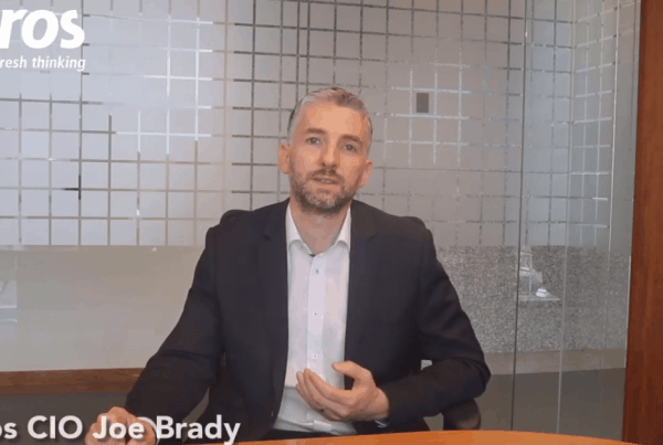 Evros CIO Joe Brady Cyber Security