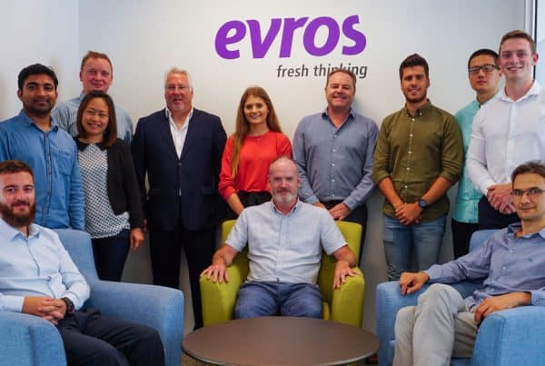 gary corley and his evros team in new zealand