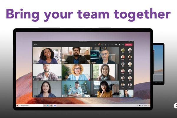 bring your team together with microsoft teams