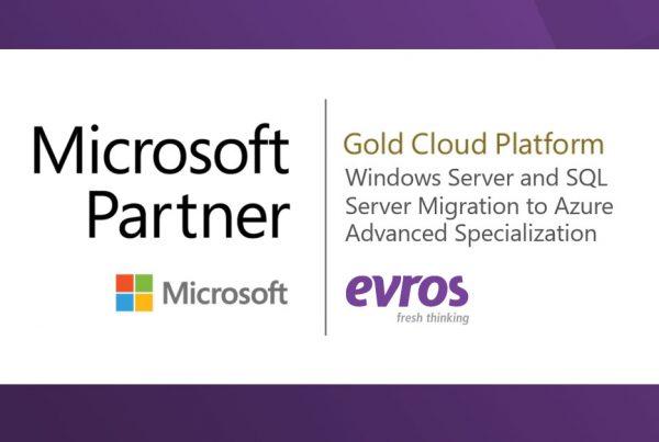 evros sql server migration and azure advanced specilisation accreditation