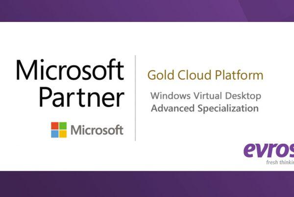 evros awarded Microsoft WVD advanced specialization